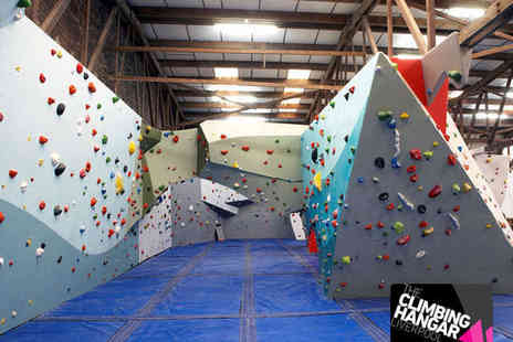 The Climbing Hangar - Climbing Induction Session for One - Save 67%