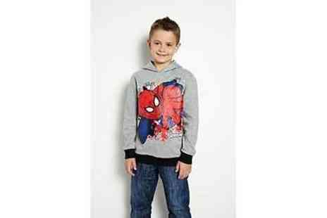 Argos - Spider Man Boy Grey Hoodie - Save 58%