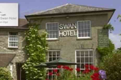 The Swan at Hay Hotel - One Nights For Two With Bottle of Wine or Cream Tea - Save 54%
