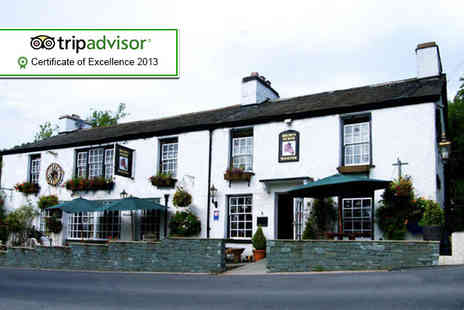 The Brown Horse Inn - Two night stay for 2 including breakfast and spa day passes - Save 51%