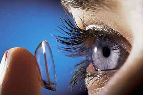 Concept Eye Clinic - Eye Test Plus Three Months Worth of Soft Contact Lenses - Save 0%