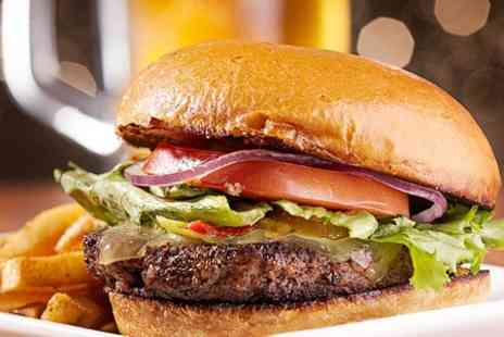 Rump n Ribs - Aberdeen Angus Beef Burger With Chips For Two - Save 60%