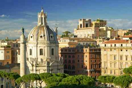 hotelsbooked.com -  2  Nights stay With Breakfast, Dinner and Flights For Two in Rome - Save 50%