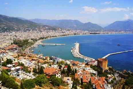KPX Travel -  7 Night Half Board Stay With Flights and Transfers For Two at Turkey - Save 50%