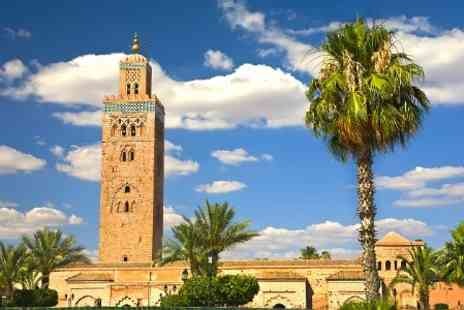 Riad Swaka - 1 Night For Two  With Dinner at Marrakech - Save 50%