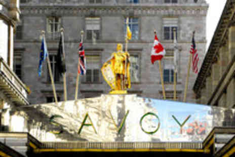 The Savoy - Champagne Afternoon Tea at The Savoy - Save 33%