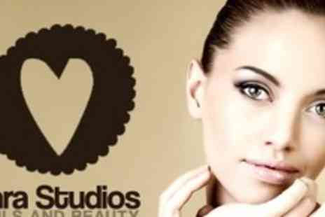 Tara Studio Nails and Beauty - Facial Pamper Package Including Dead Sea Mineral Mask and More - Save 66%