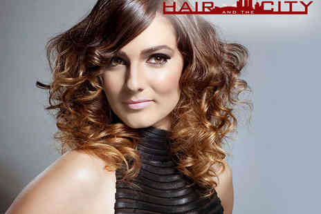 Hair and The City - Haircut and Blow Dry - Save 51%