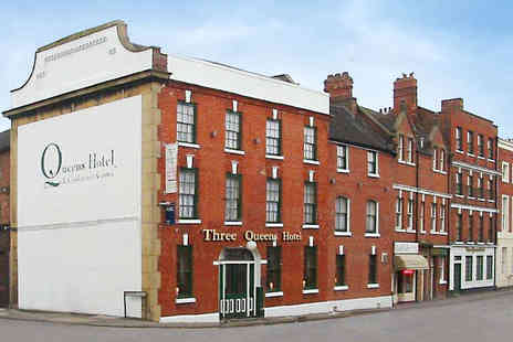 Three Queens Hotel and Lodge - A Romantic Weekend in a Welcoming Staffordshire Hotel - Save 43%