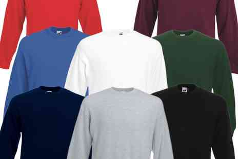 babz - Men's Raglan Fruit of the Loom Sweatshirts - Save 63%