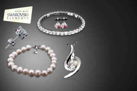 Simply 18K - Choice of Swarovski Elements goodie bag and mystery gift - Save 92%