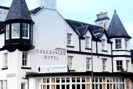 Caledonian Hotel - One Nights For Two With Dinner and Bubbly - Save 49%