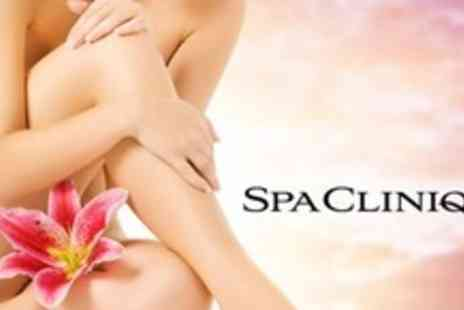 SPA Clinique - Eight Sessions of Laser Hair Removal on Full Legs or Full Arms Plus Underarms and Bikini - Save 80%