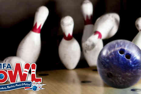 MFA Bowling - Three games for two people - Save 58%