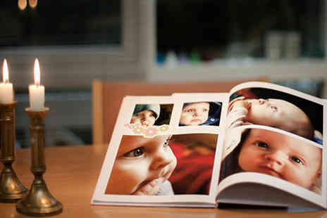 Lasertryk - High quality photobook reminisce about the good old times with this professionally bound book - Save 50%