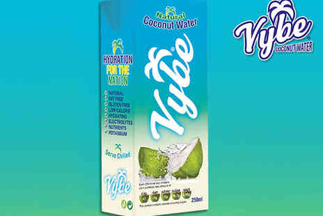 Vybe -  24 Case of Coconut Water - Save 49%