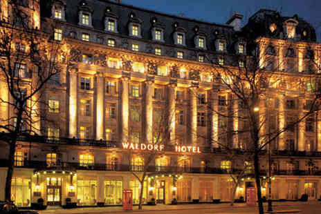 The Waldorf Hilton - Three Course Meal for Two with Champagne - Save 40%
