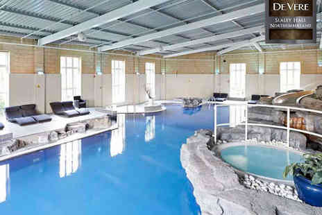 De Vere Slaley Hall - Spa Experience for One - Save 55%