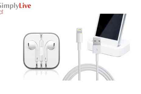 Simply Live - IPhone 5 Travel Kit - Save 50%