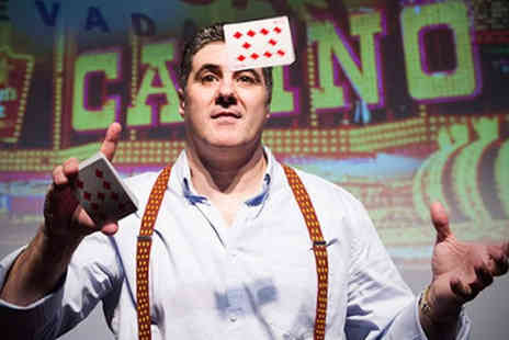 The Card Shark Show - Standard ticket magician and close up magic star  - Save 51%