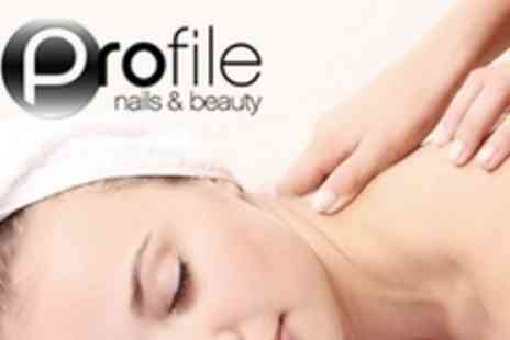 Profile Nails and Beauty - 12 Dermalogica Facials or 12 One Hour Aromatherapy Massages or Mixture of Both - Save 67%