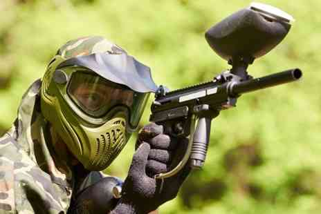freeline paintball -  Full Day With Lunch Plus 100 Balls For Two - Save 81%