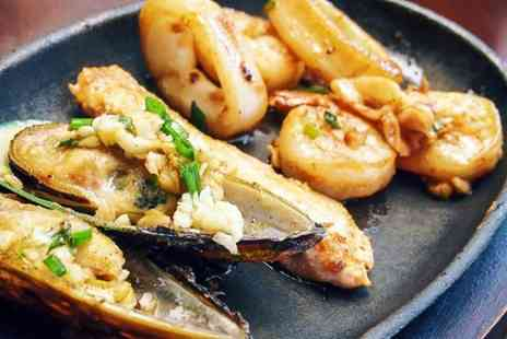 The Famous Peacock Inn - Three Course Seafood Meal For Two - Save 53%