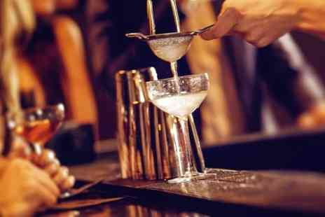 Fifty Bar Lounge - Four Cocktail option available for two people - Save 57%