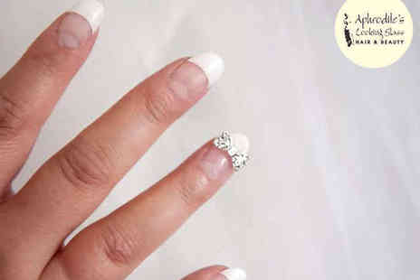 Aphrodites Looking Glass - Gellux Manicure or Pedicure - Save 50%