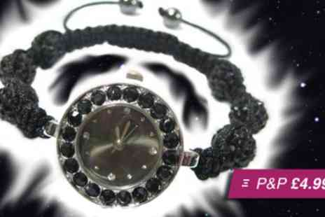Wonder Gifts - Ladies Shamballa watch - Save 83%