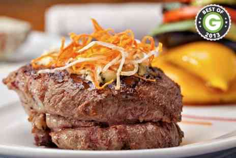 The Horseshoe Bar and Restaurant - Chateaubriand Steak With Prosecco For Two - Save 42%