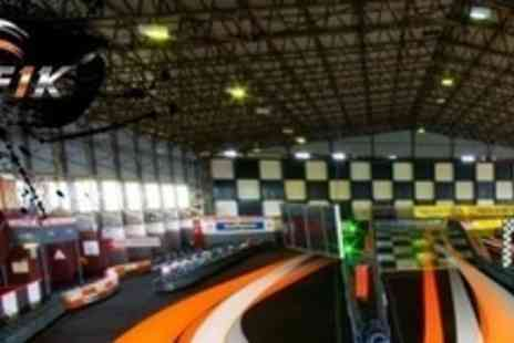 F1K Indoor Karting - 50 Lap Go Karting Experience - Save 59%