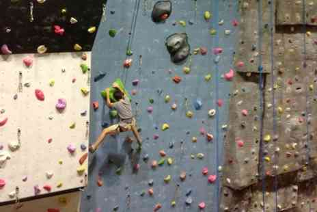 Surrey Sports Park - One Hour Climbing Taster For Two - Save 53%