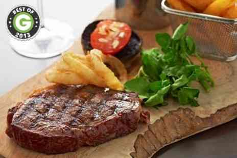 Thistle Marble Arch - Steak Meal With Champagne Cocktail - Save 59%