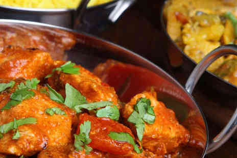 Hyderabad Nawabs - Indian Starter and Main Course Each for Two - Save 53%