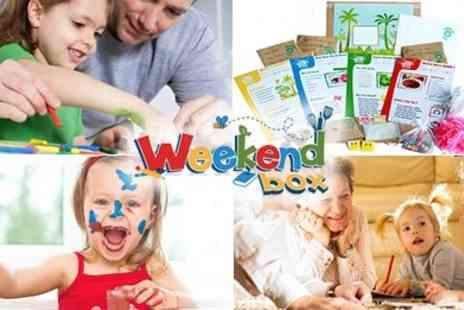Weekend Box - Creative, Green And Healthy Activities For Children Aged 3 TO  8 - Save 50%