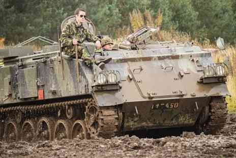 Tank Driving Scotland - Experience the thrill  with a tank ride & paintball day - Save 73%