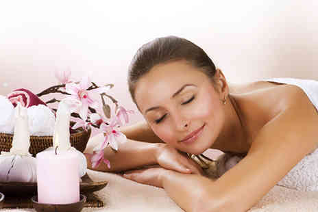 The Cottage Treatment - One hour full body hot stone aromatherapy Swedish or deep tissue massage - Save 49%