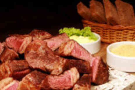 Canecao - Three course Brazilian meal for two - Save 62%