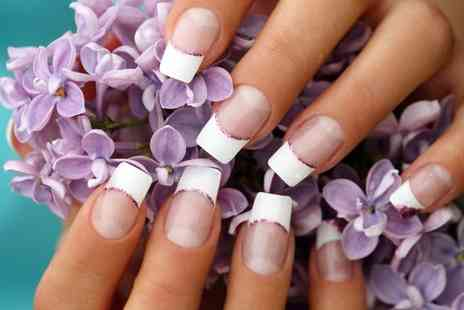 Agnes Alice @ Lotus Hair Studio - Gelish French polish manicure - Save 50%