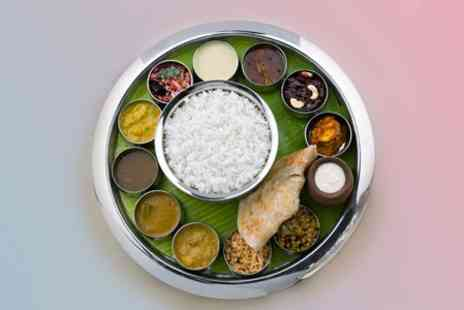 Planet Dosa - Indian Fare Six Dish Thali For Two - Save 50%