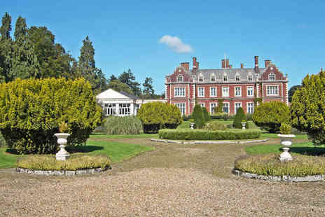 Lynford Hall Hotel - Elegance in Norfolks Unforgettable Countryside - Save 49%