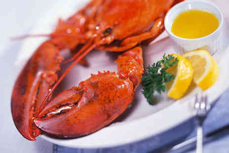 Fishers Restaurant - Whole Lobster Each and Glass of Prosecco for Two - Save 69%