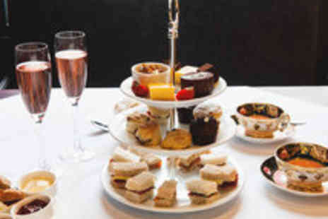 No11 - Indulgent Afternoon Tea with Sparkling Wine for Two - Save 63%