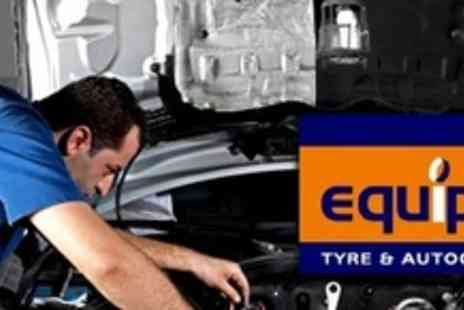 Equipe Tyre and Autocare - Car Service With Oil and Filter Change Plus Mini Valet  - Save 67%