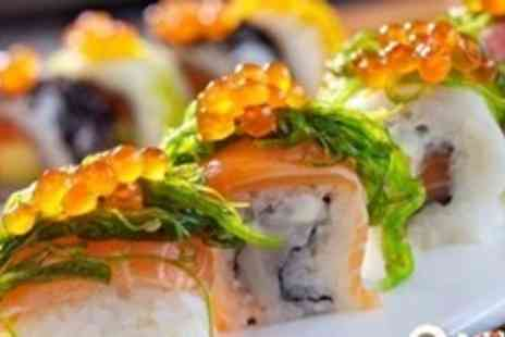 Koi Sushi & Noodle Bar - 38 Pieces of Sushi for Two to Share with Sumi Salad and Soft Drink - Save 53%