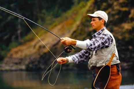 Pinewood Trout Fishery - Six Hour of Fly Fishing With Snack  - Save 50%