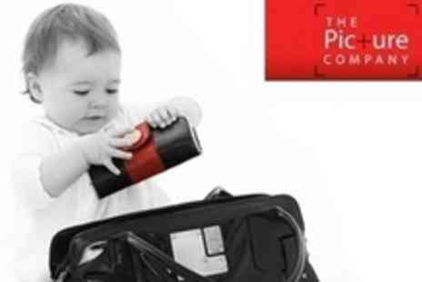 The Picture Company - One Hour Photo Shoot With Framed Canvas, Prints, and DVD - Save 89%