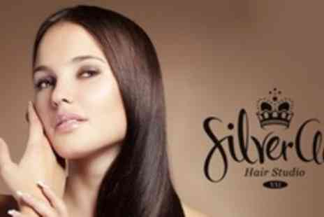 SilverClip Hair Studio - Brazilian Keratin Treatment and Blow Dry - Save 68%
