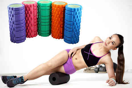 Livmore - Deep Tissue Massage Roller in Choice of Colours - Save 60%